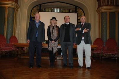 Nos invités, le président et le Député-Maire du Touquet