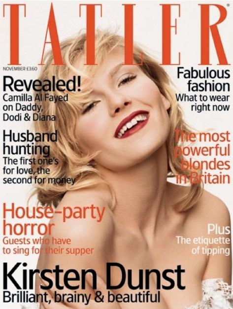 Première édition, Tatler (UK), novembre 2006
