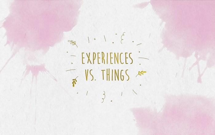 Experiences-Vs