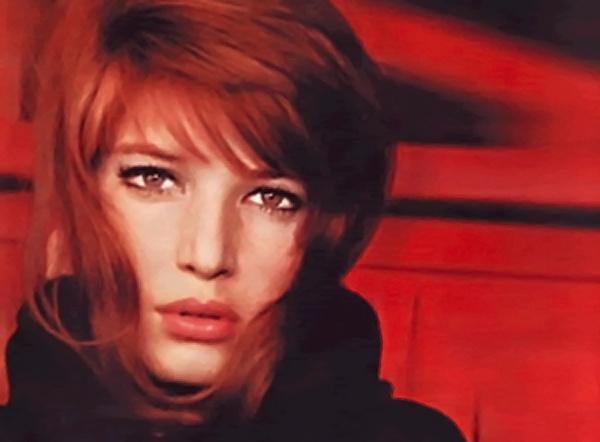 Monica Vitti red