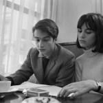 On the set of Masculin Feminin (Jean-Luc Godard, 1966).