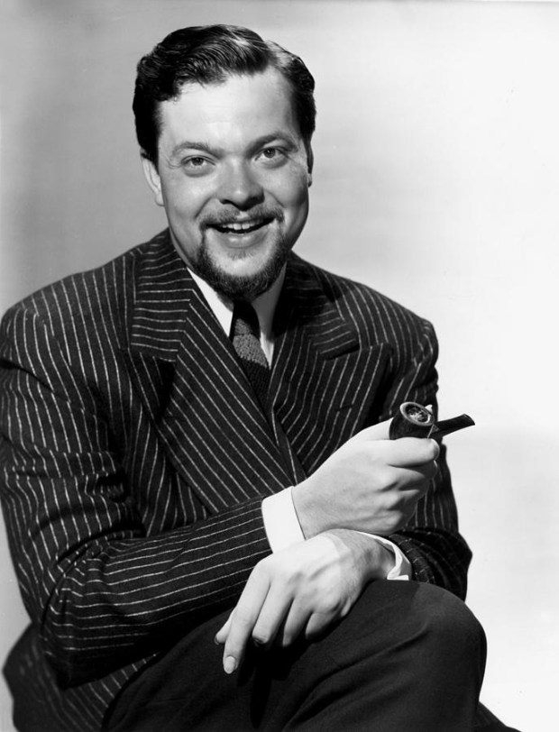 "Orson Welles. ""I passionately hate the idea of being with it. I think an artist always has to be out of step with his time."" Suggested by Alice Kavanagh, @fzlang and @GloriaBB2"