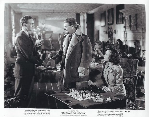 a matter of life and death chess