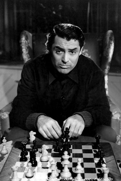 cary grant talk of the town chess