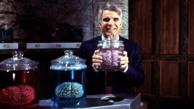 the man with two brains lab