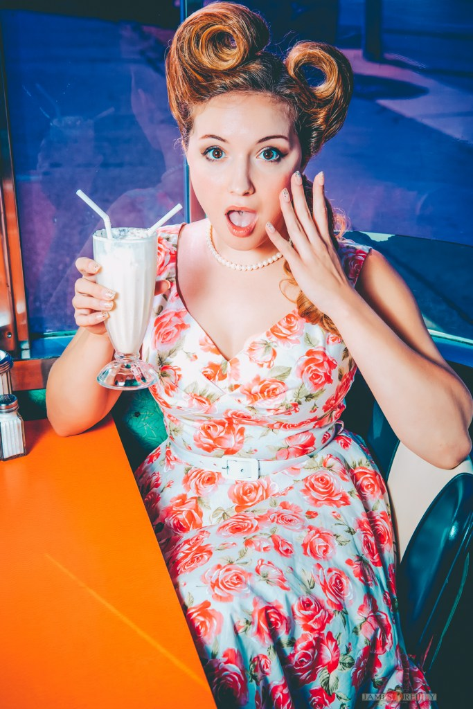 Pinup Diner Shoot