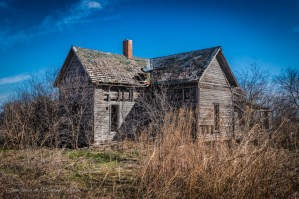 Random Picture of the Week #15: Abandoned Farm House Near Italy, Texas