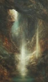 Cave, Oil, 70x120cm