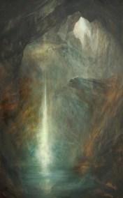 Cavern, Oil, 120x70cm