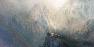 """""""Precipice"""", Oil,  40x24cm"""