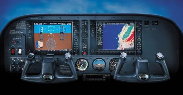 2015 Cessna 172 Technically Advanced Aircraft Garmin G1000 Panel