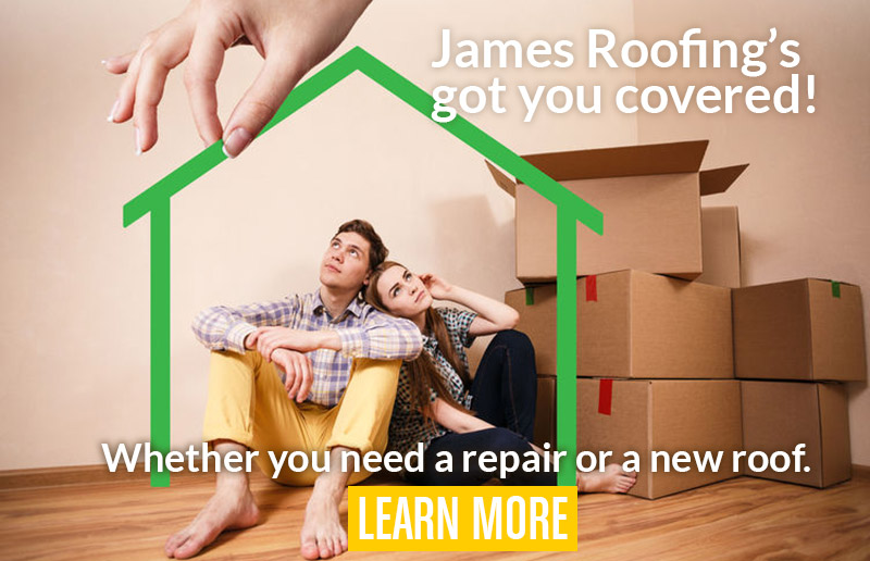 James Roofing's got you covered