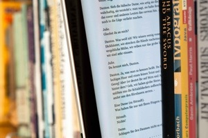 Apple and books; will we be seeing self-published interactive ebooks soon? Image courtesy Maximilian Schönherr.