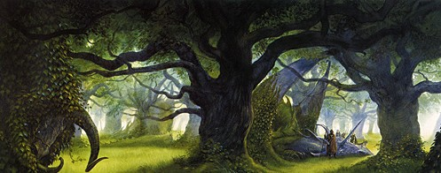 John Howe's beautiful cover to Robin Hobb's Assassin's Quest