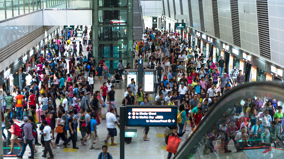 Leica, Singapore, MRT, Travel, Transport System, Container, People, No Foreign Lands