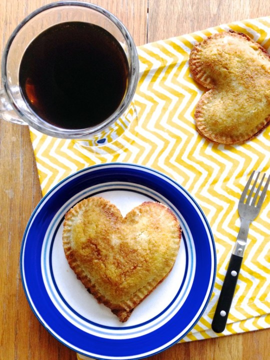 Heart Pocket Pies
