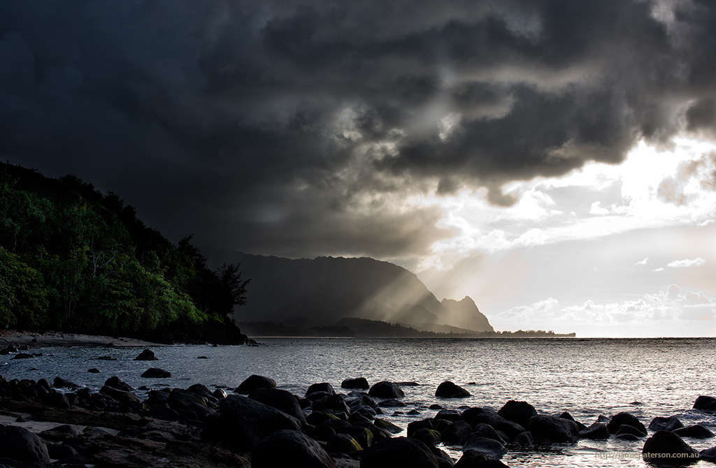 hawaiian beaches, kauai photography, seascape photography