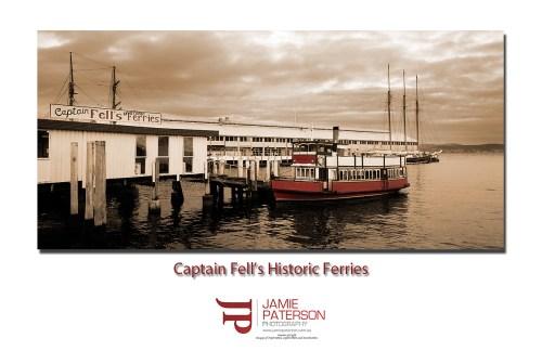 hobart tasmania australian landscape photography boats ferry