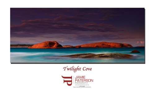 twilight cove, twilight cove esperance, australian landscape photography, seascape photography