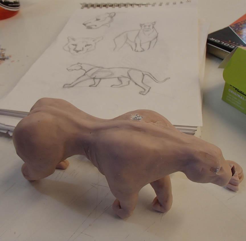 sketches and work in progress by Sam Myrdek