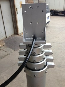 Mobile lift for drone jammer