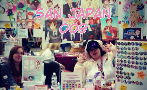 the JamSammich booth for SJ009