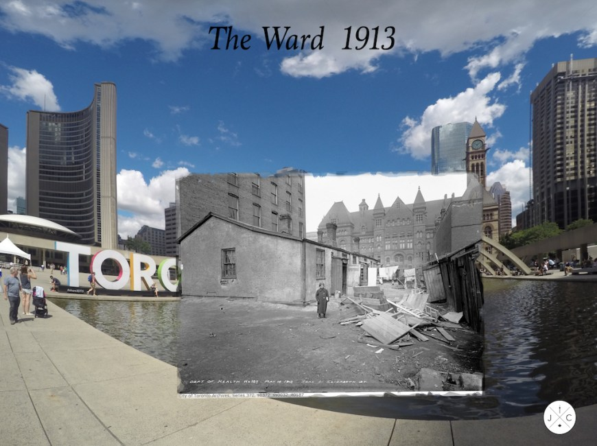 Then and Now Toronto: The Ward, 1913