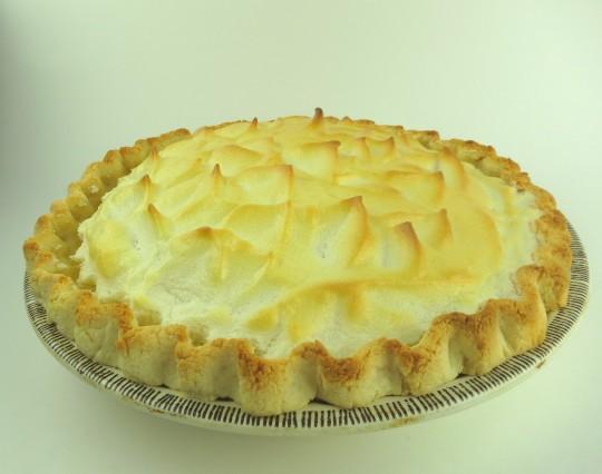 Paleo Mom's Chocolate Meringue Pie