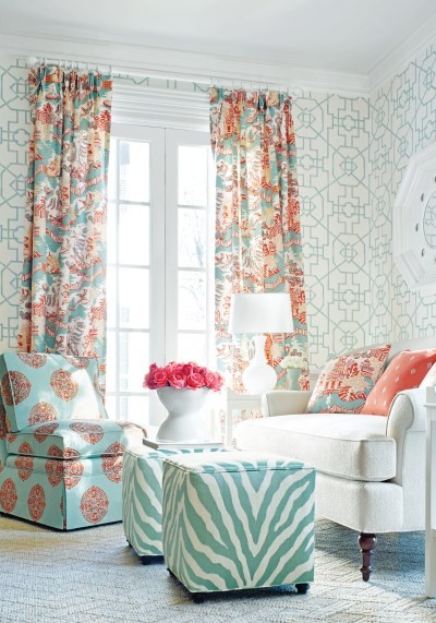 Chinoiserie Chic from Thibaut | Janet Brown Interiors