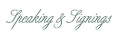 speakings-signings