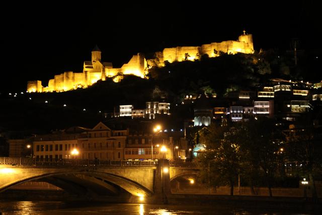 Twinkling Twilight in Tbilisi (3/6)