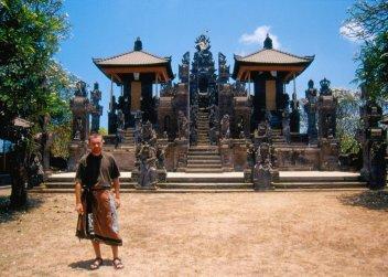 Polski turysta w Indonezji ;)