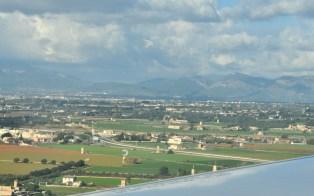 Okolice Palma de Mallorca, stolicy wyspy. W Palmie też będziemy w wietrzny dzień.