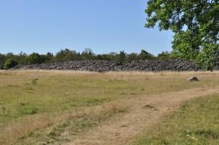 Ismantorps fornborg, dawny gród wikingów z II wieku, zamieszkały do VII. Największy i najstarszy na Olandii.