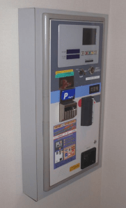 A payment machine in a love hotel
