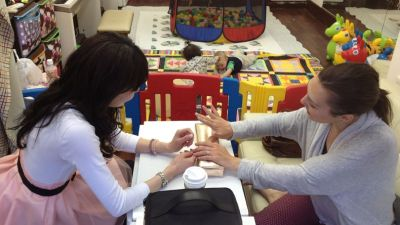 New salon offers childcare while mums get pampered - Japan ...