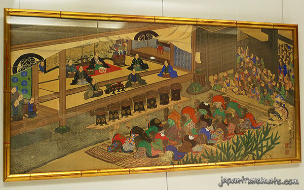 Historic Japanese painting