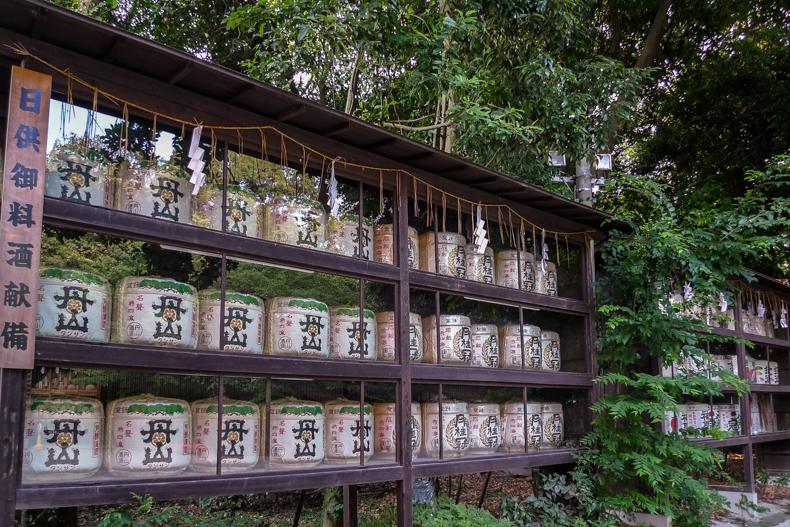 Komodaru (sake barrels)