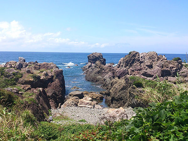 Muroto Peninsula and the Pacific Ocean