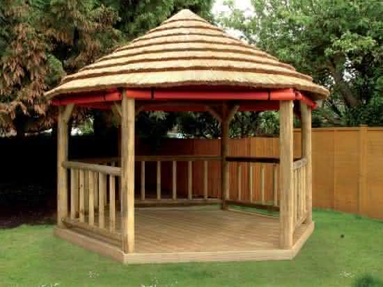 thatched gazebo2 Decorao para o jardim