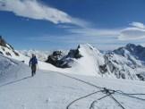 Pito Peak summit slopes, Arrowsmith Range, NZ