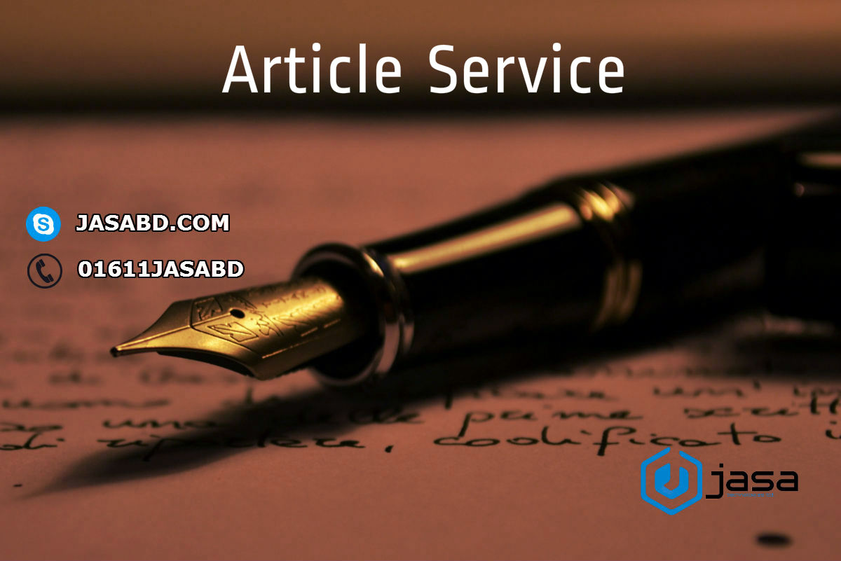 Article Service Intro