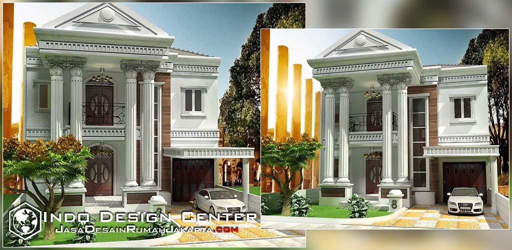 Memilih Desain Model Rumah Tinggal Kita Rumah Manisa Mediterania Srengseng Sawah Jagakarsa