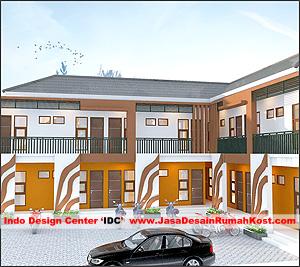 Desain Rumah Kost 2 Lantai Di Rawamangun Cover