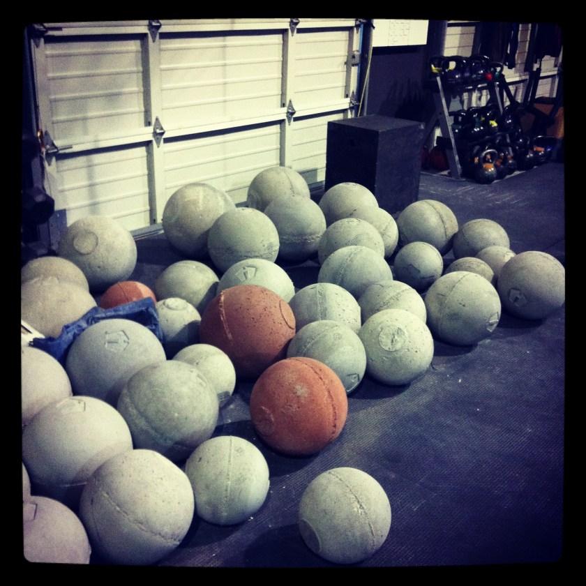 Atlas Balls at CrossFit Las Vegas
