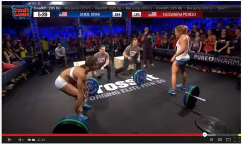 rounded back dead lift