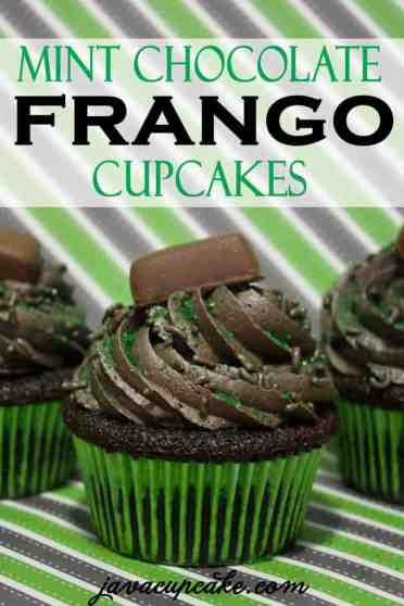 Mint Chocolate Frango Cupcakes by JavaCupcake