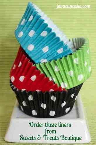 Polka Dot Liners from Sweets and Treats Boutique