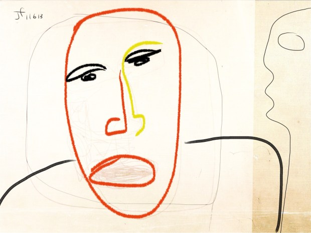 Portrait 11.6.13 by Jay Ferranti