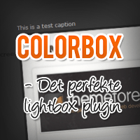 Colorbox - Det perfekte lightbox plugin?